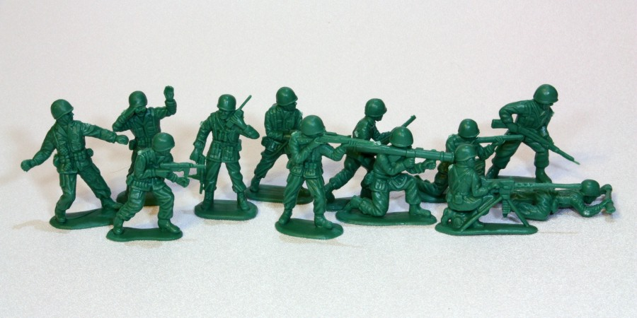 green-army-men